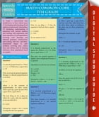 Math Common Core 7Th Grade (Speedy Study Guides) by Speedy Publishing