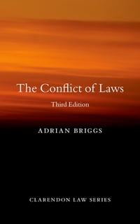 The Conflict of Laws