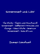Government and Law by James Constant