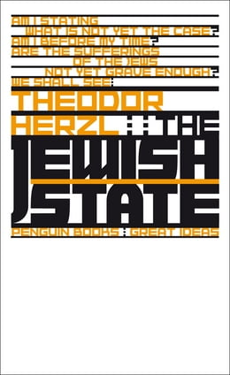 Book The Jewish State by Theodor Herzl