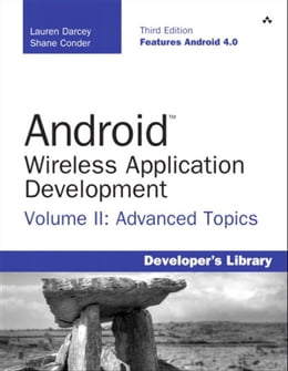 Book Android Wireless Application Development Volume II: Advanced Topics by Lauren Darcey