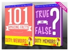 Duty: Memoirs Of A Secretary At War - 101 Amazing Facts & True or False?: Fun Facts and Trivia Tidbits Quiz Game Books by G Whiz
