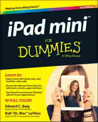 iPad mini For Dummies by Edward C. Baig