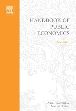 Book Handbook of Public Economics by Feldstein, Martin
