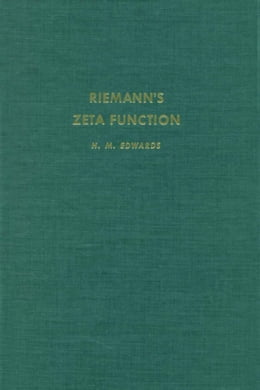 Book RiemannÆs zeta function by Edwards, H.M.