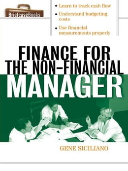 Book Finance for the Non-Financial Manager by Siciliano, Gene