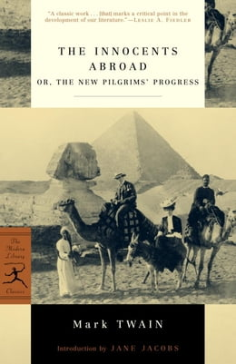 Book The Innocents Abroad: or, The New Pilgrims' Progress by Mark Twain