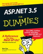 ASP.NET 3.5 For Dummies by Ken Cox
