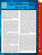 Math Common Core 6th Grade (Speedy Study Guides) by Speedy Publishing