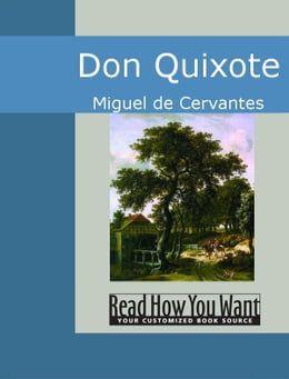 Book Don Quixote by Cervantes Miguel de