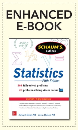 Book Schaum's Outline of Statistics, 5th Edition by Murray Spiegel