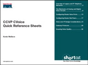 CCVP CVoice Quick Reference Sheets by Kevin Wallace