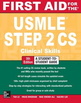 Book First Aid for the USMLE Step 2 CS, Fifth Edition by Le, Tao