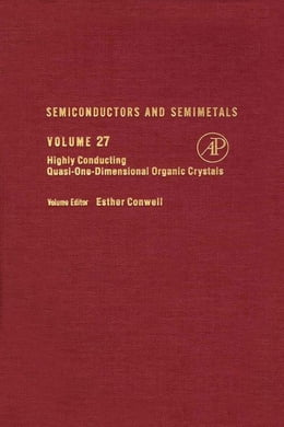 Book Semiconductors and Semimetals by Conwell, Esther