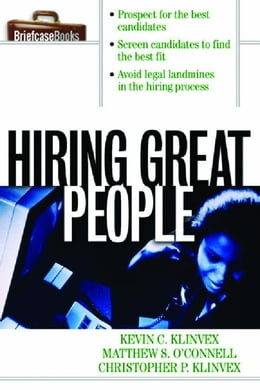 Book Hiring Great People by Klinvex, Kevin