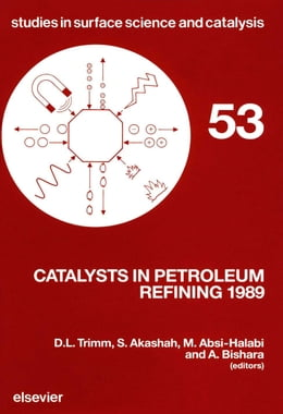Book Catalysts in Petroleum Refining 1989 by Trimm, D.L.
