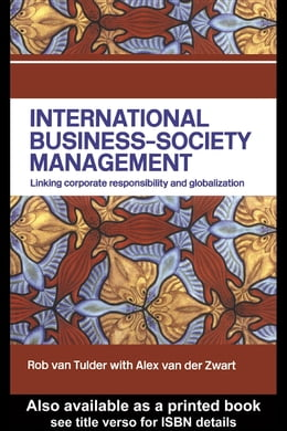 Book International Business-Society Management by van Tulder, Rob