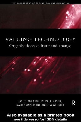 Book Valuing Technology by Skinner, David