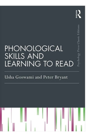 Phonological Skills and Learning to Read