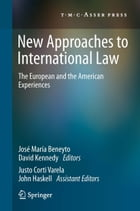 New Approaches to International Law: The European and the American Experiences by José María Beneyto