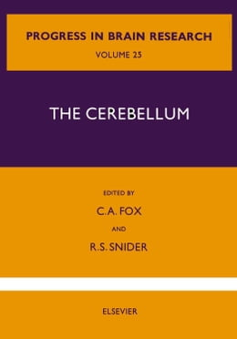 Book The Cerebellum by Fox, Clement A.