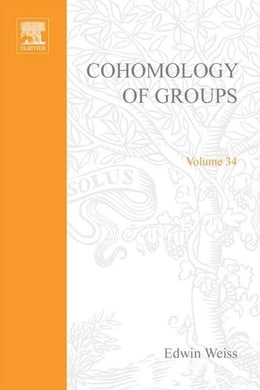 Book Cohomology of groups by Weiss, Edwin