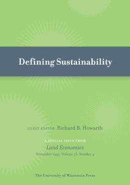 Book Defining Sustainability by Howarth, Richard