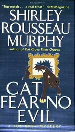 Book Cat Fear No Evil by Shirley Rousseau Murphy