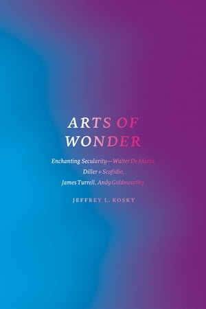 Arts of Wonder Enchanting Secularity - Walter De Maria,  Diller + Scofidio,  James Turrell,  Andy Goldsworthy