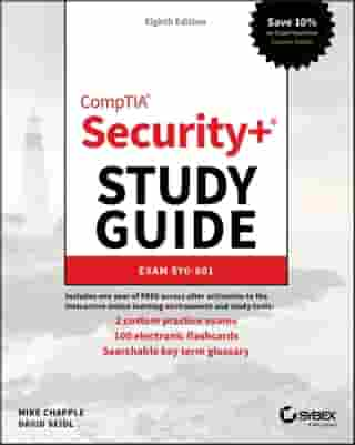CompTIA Security+ Study Guide: Exam SY0-601 by Mike Chapple