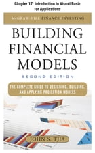 Building Financial Models, Chapter 17 - Introduction to Visual Basic for Applications