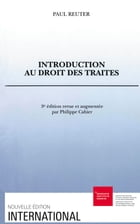 Introduction au droit des traités by Paul Reuter