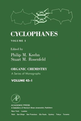 Book Cyclophanes by Keehn, Philip