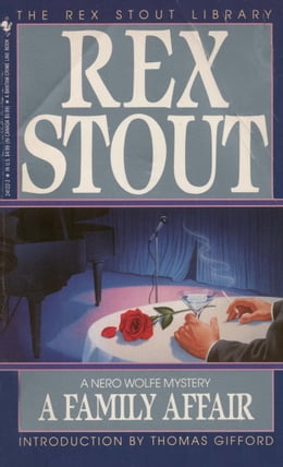 Book FAMILY AFFAIR by Rex Stout