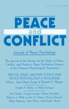Military Ethics and Peace Psychology