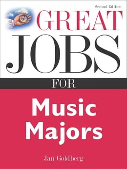 Book Great Jobs for Music Majors by Goldberg, Jan