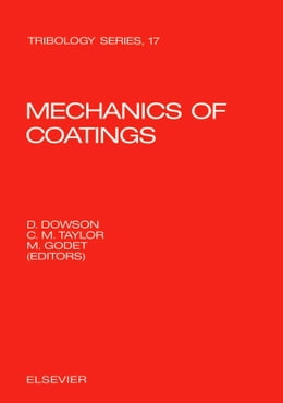 Book Mechanics of Coatings by Dowson, D.