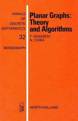 Book Planar Graphs: Theory and Algorithms by Nishizeki, T.