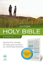 Find Hope: NIV VerseLight Bible: Quickly Find Verses of Hope and Comfort for Hurting People by Christopher D. Hudson