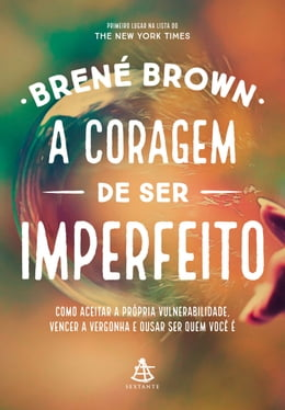 Book A coragem de ser imperfeito by Brené Brown