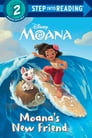 Moana's New Friend (Disney Moana) Cover Image