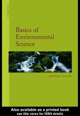 Book Basics of Environmental Science by Allaby, Michael