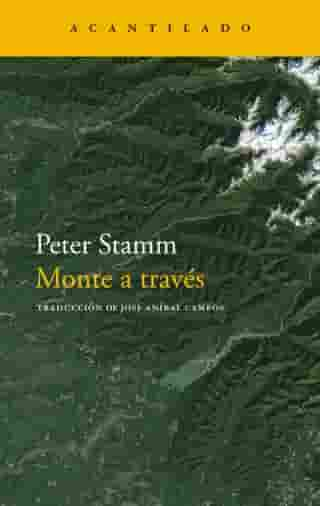 Monte a través by Peter Stamm