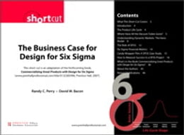 Book Business Case for Design for Six Sigma (Digital Short Cut) The by Randy C. Perry