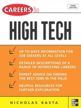 Book Careers in High Tech by Basta, Nicholas