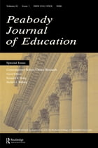 Contemporary School Choice Research Pje V81#1