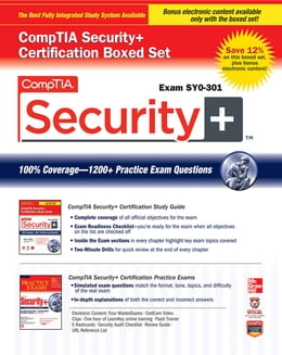 Book CompTIA Security+ Certification Boxed Set (Exam SY0-301) by Glen E. Clarke