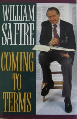 Book COMING TO TERMS by William Safire