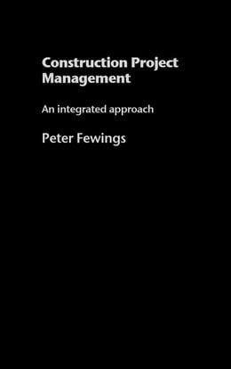 Book Construction Project Management by Fewings, Peter
