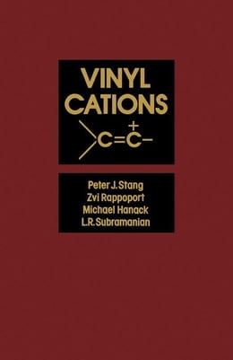 Book Vinyl Cations by Stang, Peter